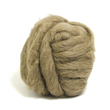 Paradise Fibers Mink Top Roving Brown / 1oz - 1