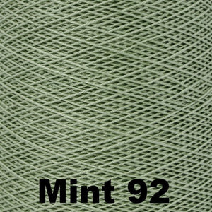 3/2 Mercerized Perle Cotton-Weaving Cones-Mint 92-