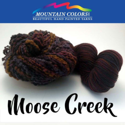 Mountain Colors Twizzlefoot Yarn Moose Creek - 55