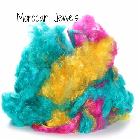 Camaj Hand Dyed Mulberry Silk Cloud- Soffsilk® Morocan Jewels / 1oz - 9