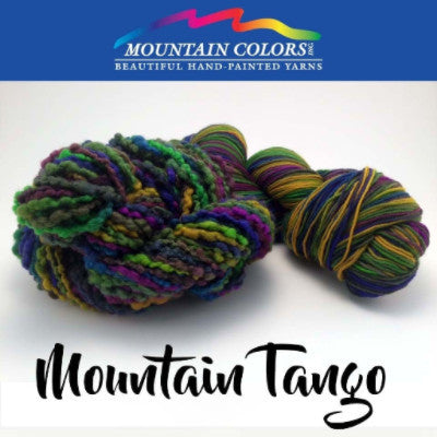 Mountain Colors Twizzlefoot Yarn Mountain Tango - 56