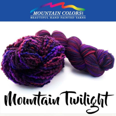 Mountain Colors Twizzlefoot Yarn Mountain Twilight - 57
