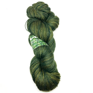 Mountain Colors Bearfoot Sock Yarn - 100g - Olive-Yarn-Paradise Fibers