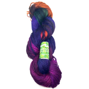 Mountain Colors Bearfoot Sock Yarn - 100g - Spring Eclipse-Yarn-Paradise Fibers