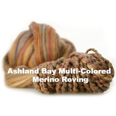 Paradise Fibers Fiber Ashland Bay Multi-Colored Merino Roving  - 1