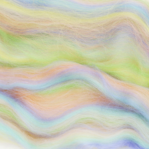 Paradise Fibers Multi Colored Corriedale Wool Top - Fairy-Fiber-Paradise Fibers