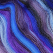 Paradise Fibers Multi Colored Corriedale Wool Top - Purple People Eater-Fiber-Paradise Fibers