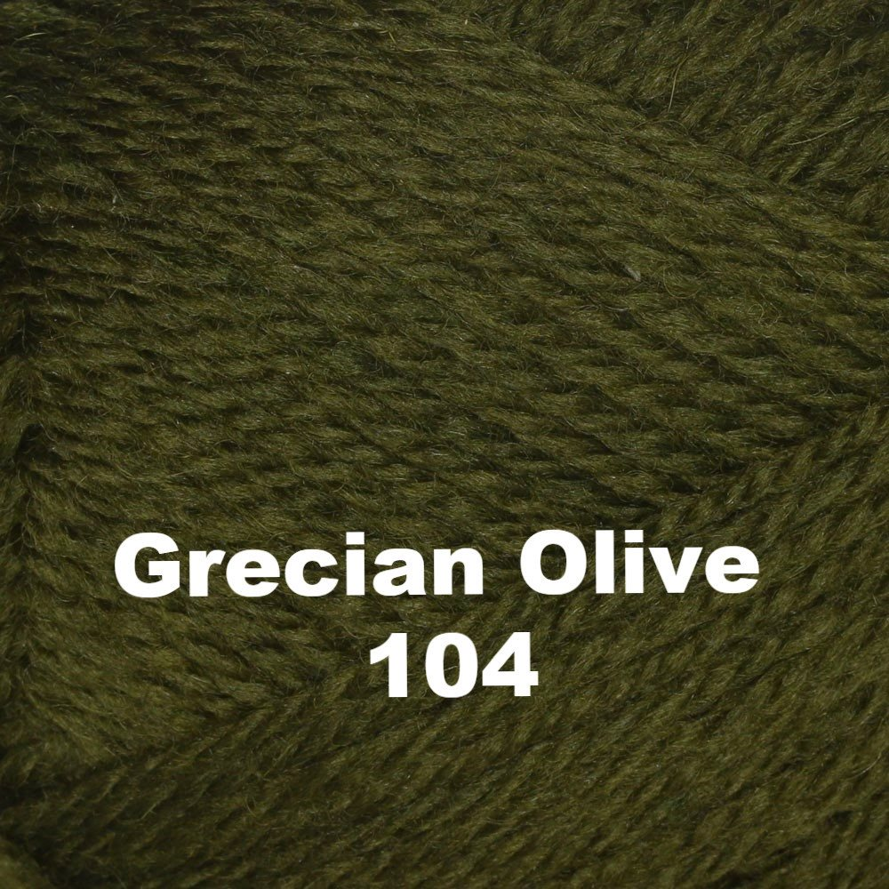 Brown Sheep Nature Spun Worsted Yarn Grecian Olive 104 - 3