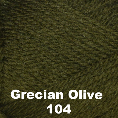 Brown Sheep Nature Spun Cone Fingering Yarn Grecian Olive 104 - 4