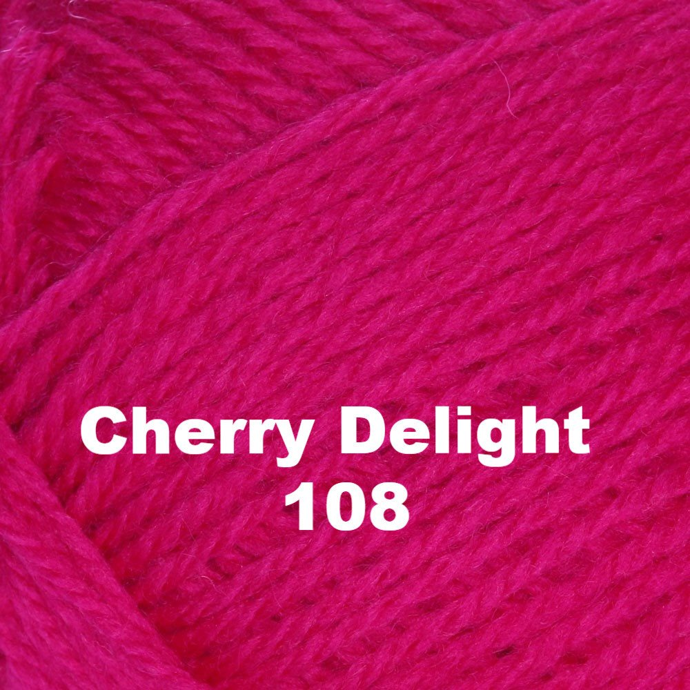 Paradise Fibers Yarn Brown Sheep Nature Spun Worsted Yarn Cherry Delight 108 - 6