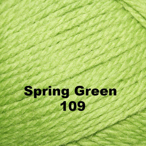 Paradise Fibers Yarn Brown Sheep Nature Spun Worsted Yarn Spring Green 109 - 7