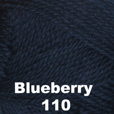 Brown Sheep Nature Spun Cone Fingering Yarn Blueberry 110 - 8