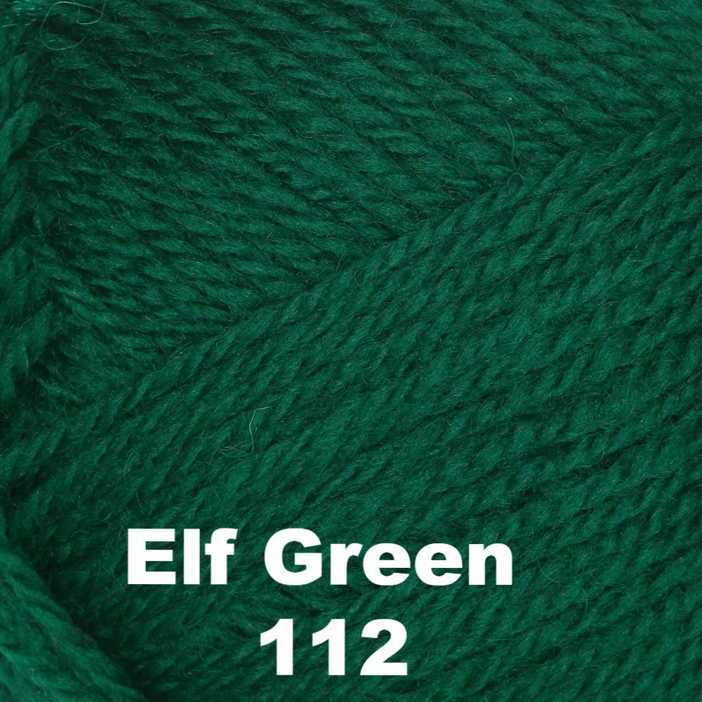Brown Sheep Nature Spun Fingering Yarn Elf Green 112 - 9