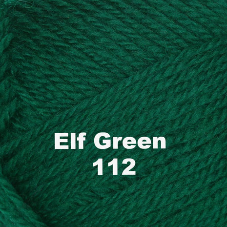 Paradise Fibers Yarn Brown Sheep Nature Spun Worsted Yarn Elf Green 112 - 9