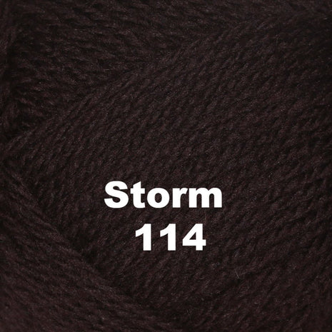 Paradise Fibers Yarn Brown Sheep Nature Spun Worsted Yarn Storm 114 - 10