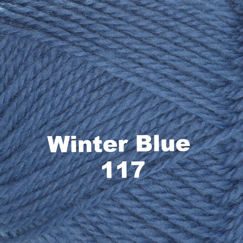 Brown Sheep Nature Spun Worsted Yarn Winter Blue 117 - 12