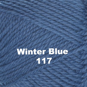 Paradise Fibers Yarn Brown Sheep Nature Spun Worsted Yarn Winter Blue 117 - 13