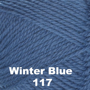Brown Sheep Nature Spun Fingering Yarn Winter Blue 117 - 13