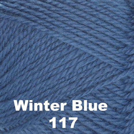Brown Sheep Nature Spun Cone Fingering Yarn Winter Blue 117 - 13