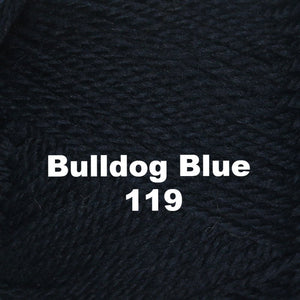 Paradise Fibers Yarn Brown Sheep Nature Spun Worsted Yarn Bulldog Blue 119 - 14