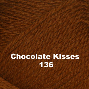 Brown Sheep Nature Spun Worsted Yarn-Yarn-Chocolate Kisses 136-