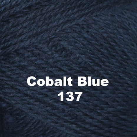 Paradise Fibers Yarn Brown Sheep Nature Spun Worsted Yarn Cobalt Blue 137 - 22