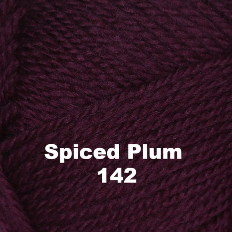 Paradise Fibers Yarn Brown Sheep Nature Spun Worsted Yarn Spiced Plum 142 - 23