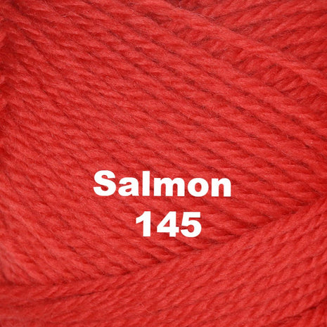 Paradise Fibers Yarn Brown Sheep Nature Spun Worsted Yarn Salmon 145 - 25
