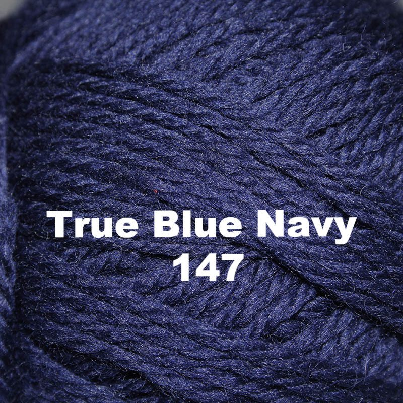 Brown Sheep Nature Spun Worsted Yarn True Blue Navy 147 - 26