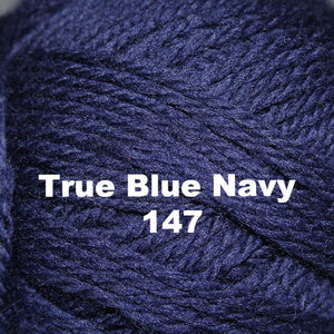 Paradise Fibers Yarn Brown Sheep Nature Spun Worsted Yarn True Blue Navy 147 - 27