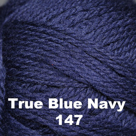 Brown Sheep Nature Spun Cone Fingering Yarn True Blue Navy 147 - 27