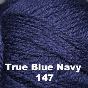 Brown Sheep Nature Spun Fingering Yarn True Blue Navy 147 - 27
