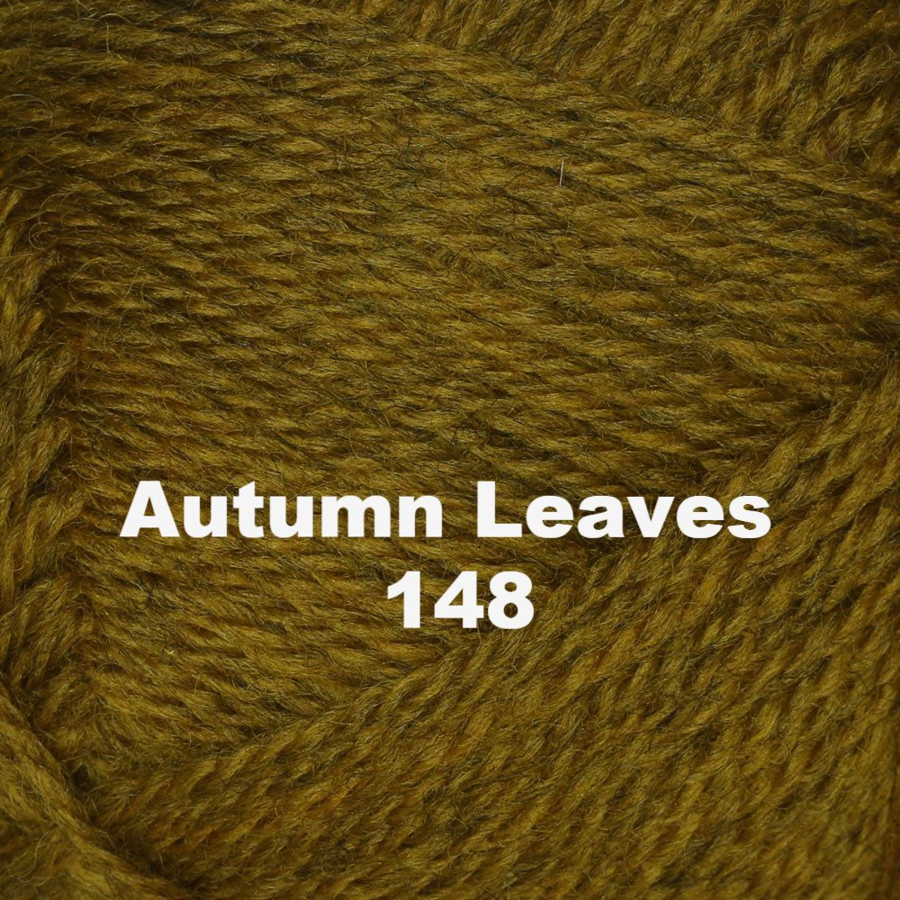 Paradise Fibers Yarn Brown Sheep Nature Spun Worsted Yarn Autumn Leaves 148 - 28
