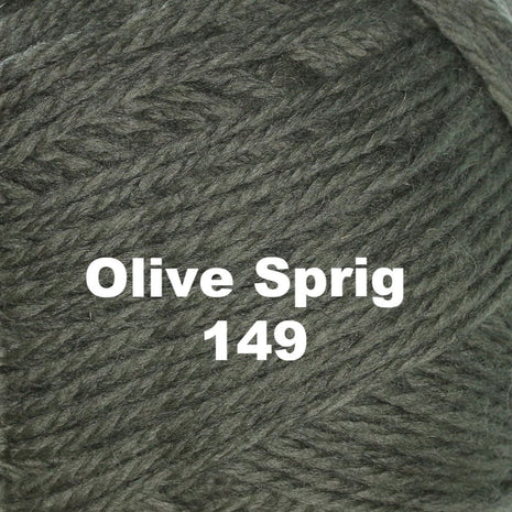 Paradise Fibers Yarn Brown Sheep Nature Spun Worsted Yarn Olive Sprig 149 - 29