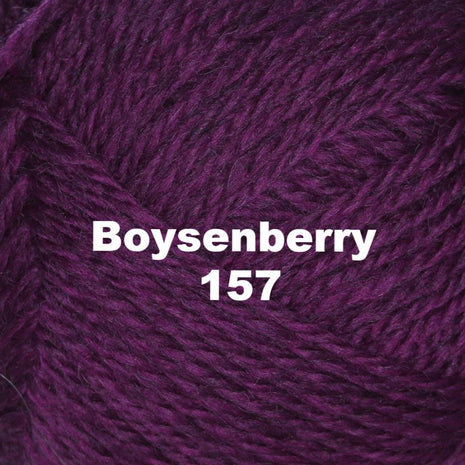 Paradise Fibers Yarn Brown Sheep Nature Spun Worsted Yarn Boysenberry 157 - 32