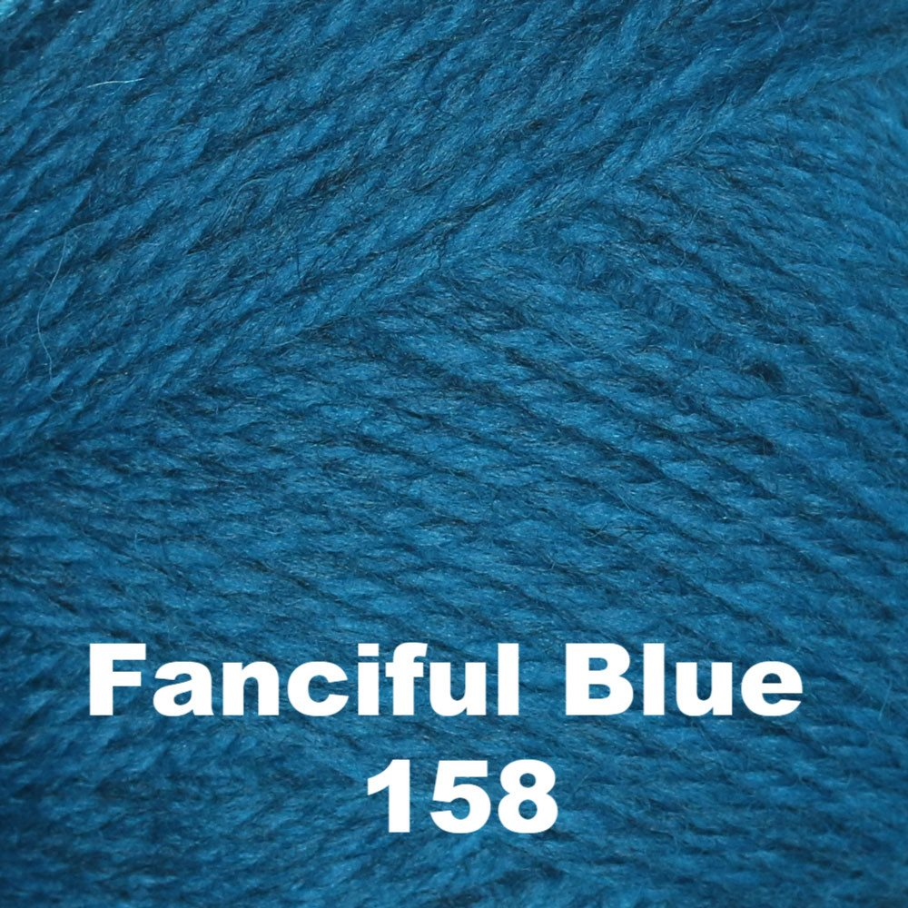 Brown Sheep Nature Spun Fingering Yarn Fanciful Blue 158 - 33