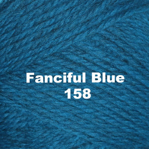 Paradise Fibers Yarn Brown Sheep Nature Spun Worsted Yarn Fanciful Blue 158 - 33