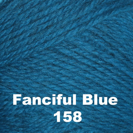 Brown Sheep Nature Spun Cone Fingering Yarn Fanciful Blue 158 - 33