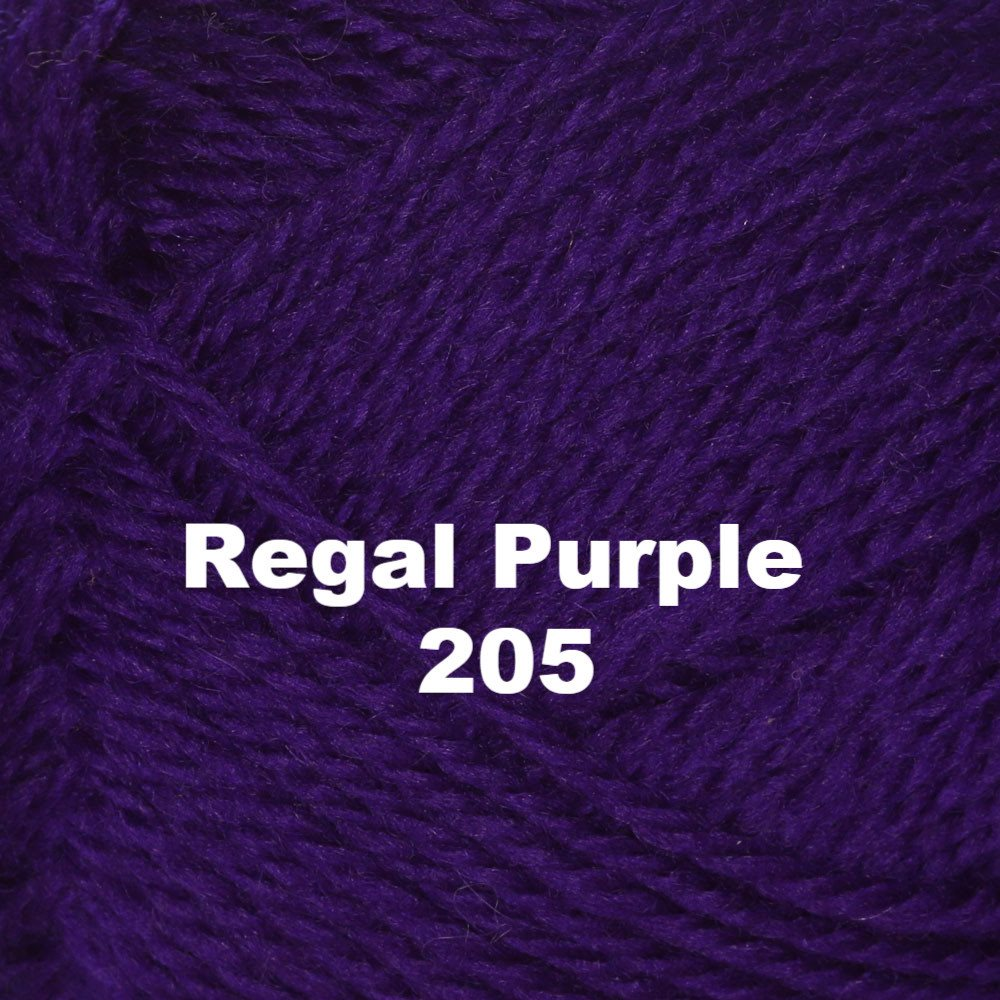 Brown Sheep Nature Spun Worsted Yarn Regal Purple 205 - 34