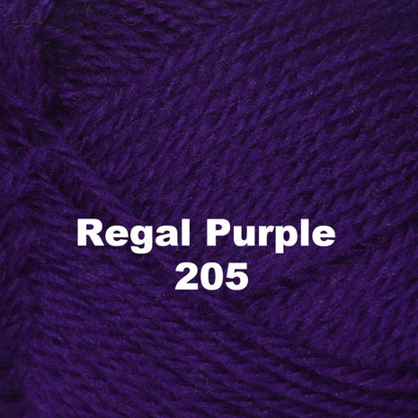 Paradise Fibers Yarn Brown Sheep Nature Spun Worsted Yarn Regal Purple 205 - 35