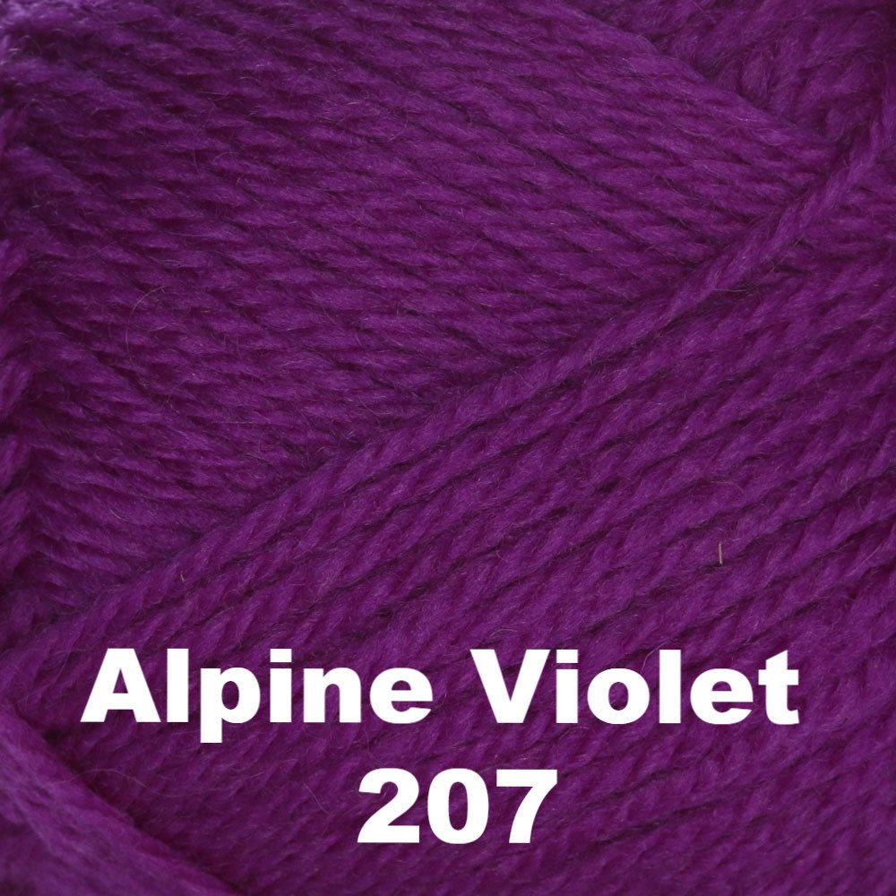 Brown Sheep Nature Spun Fingering Yarn Alpine Violet 207 - 36
