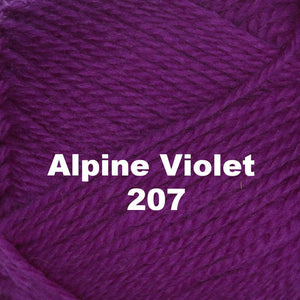 Paradise Fibers Yarn Brown Sheep Nature Spun Worsted Yarn Alpine Violet 207 - 36