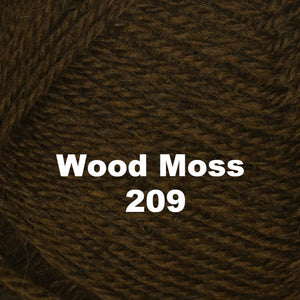 Paradise Fibers Yarn Brown Sheep Nature Spun Worsted Yarn Wood Moss 209 - 37