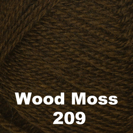 Brown Sheep Nature Spun Fingering Yarn Wood Moss 209 - 37