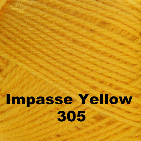 Brown Sheep Nature Spun Cone Sport Yarn Impasse Yellow 305 - 40
