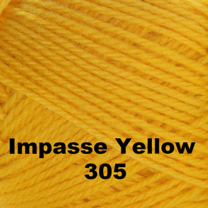 Brown Sheep Nature Spun Fingering Yarn Impasse Yellow 305 - 40