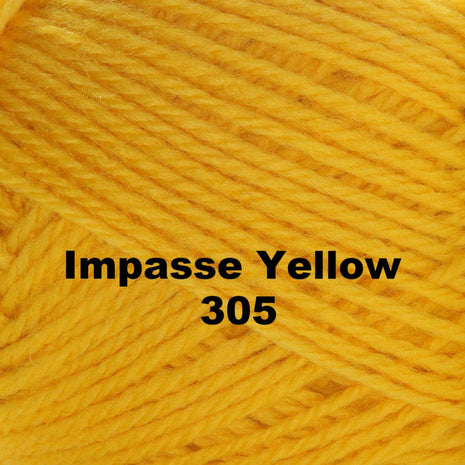 Paradise Fibers Yarn Brown Sheep Nature Spun Worsted Yarn Impasse Yellow 305 - 40