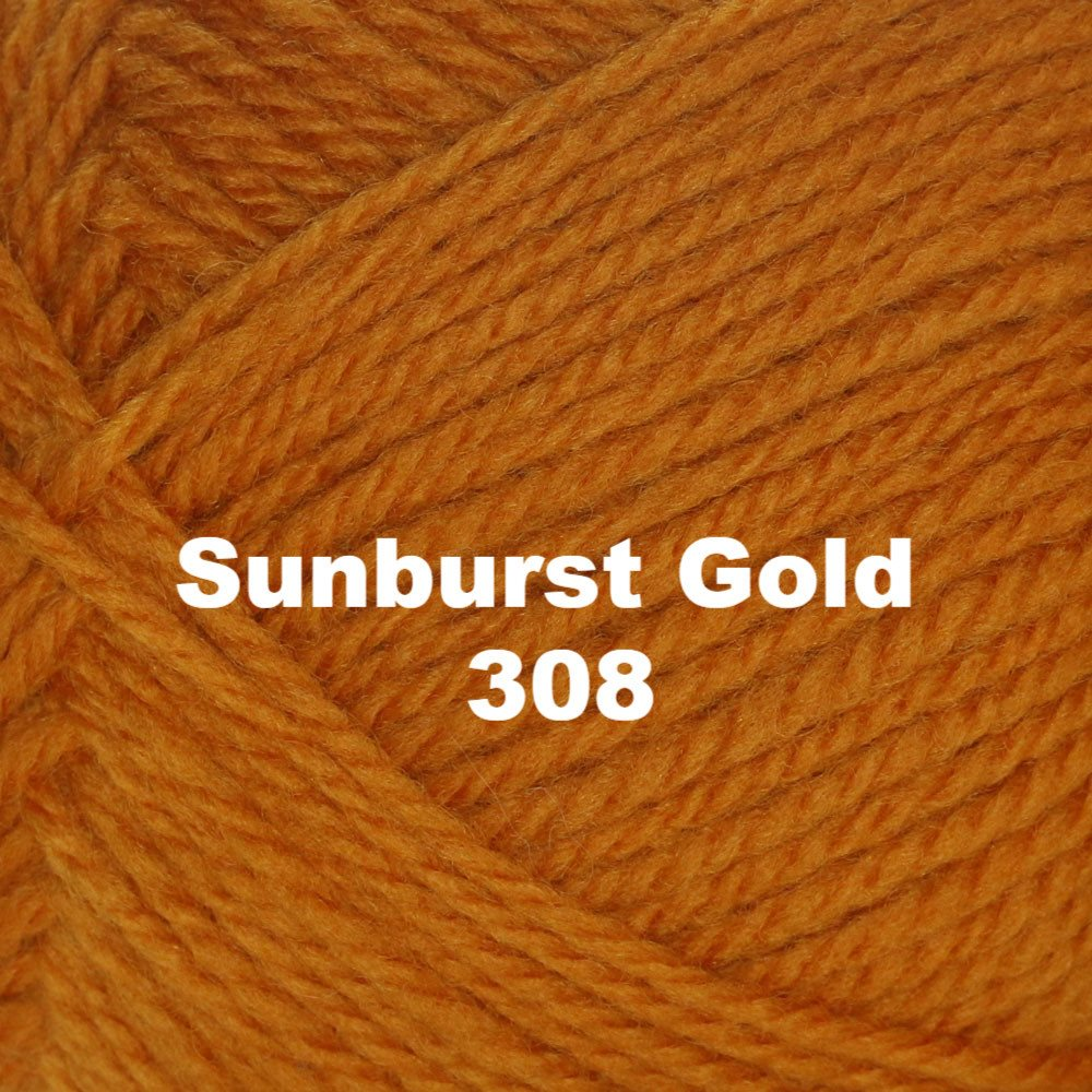 Brown Sheep Nature Spun Worsted Yarn Sunburst Gold 308 - 41
