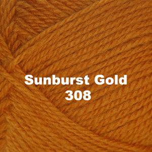 Paradise Fibers Yarn Brown Sheep Nature Spun Worsted Yarn Sunburst Gold 308 - 42