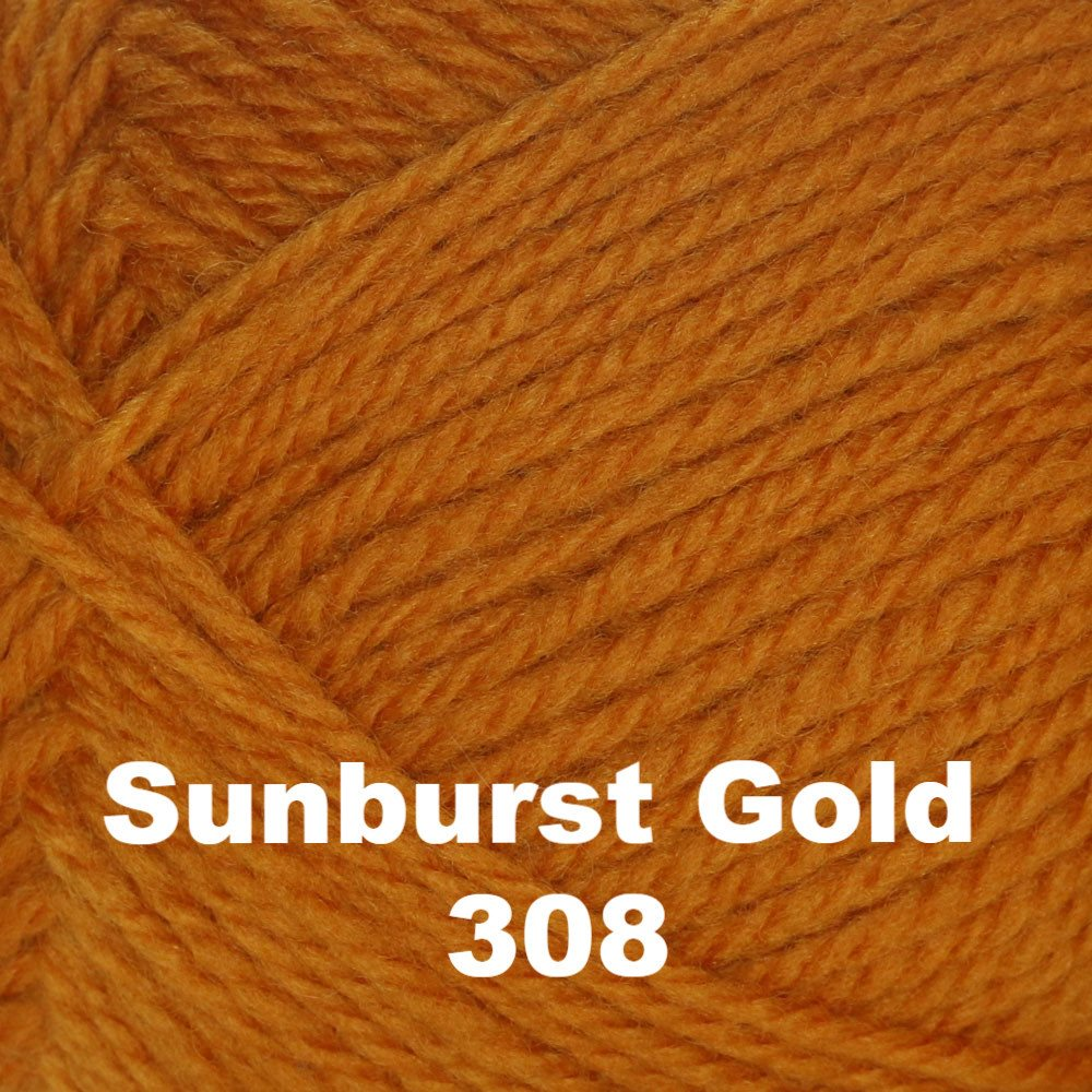 Brown Sheep Nature Spun Fingering Yarn Sunburst Gold 308 - 42